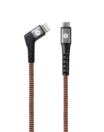 Braided 6' C to Lightning cable