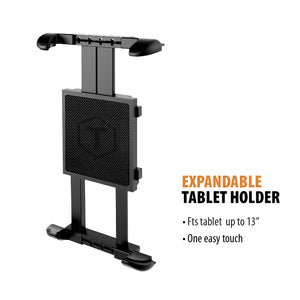 "Tablet & GPS Boom mount - Fits tablets up to 13"" and rotates 360 degrees"