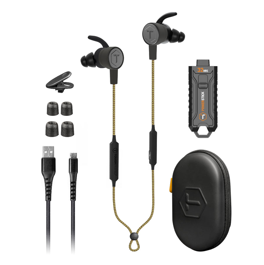Ranger - Rugged Water Resistant Bluetooth Earbuds