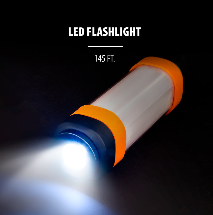 LifeLight 2,600mAh LED Flashlight with Power Bank