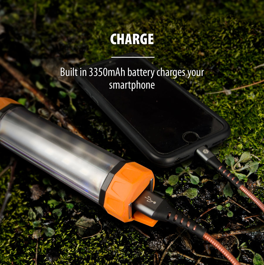 XIP 3300mAh Rechargeable Sport Utility Power Bank/ LED