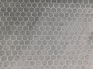 Hexagon Embossed Velvet