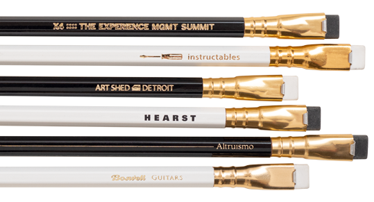 Custom Blackwing pencils