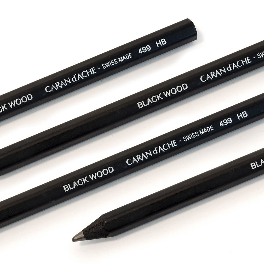 Caran d'Ache Blackwood Jumbo Pencil