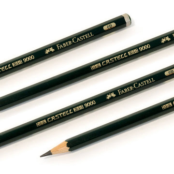 Faber-Castell Castell 9000 Graded Graphite Drawing Pencils