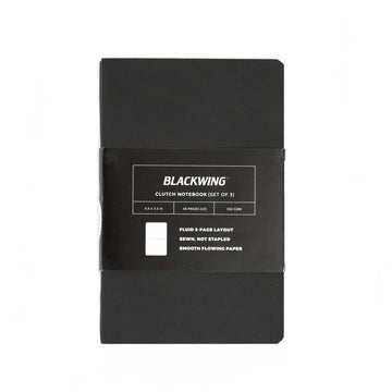 Blackwing Clutch Pocket Notebook (3-Pack)
