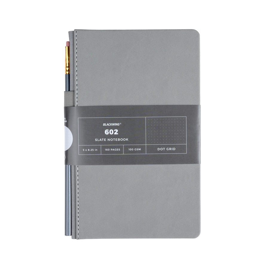 Blackwing 602 Slate Notebook - Dot Grid Paper