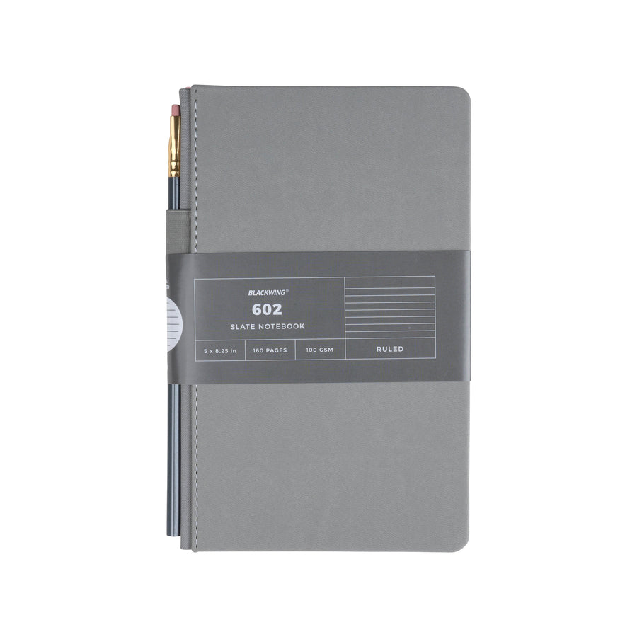 Blackwing 602 Slate Notebook - Lined Paper