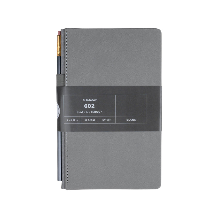Blackwing 602 Slate Notebook - Blank Paper