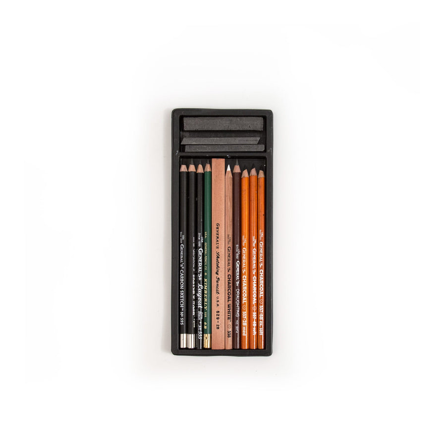 General's #10 Drawing Pencil Kit