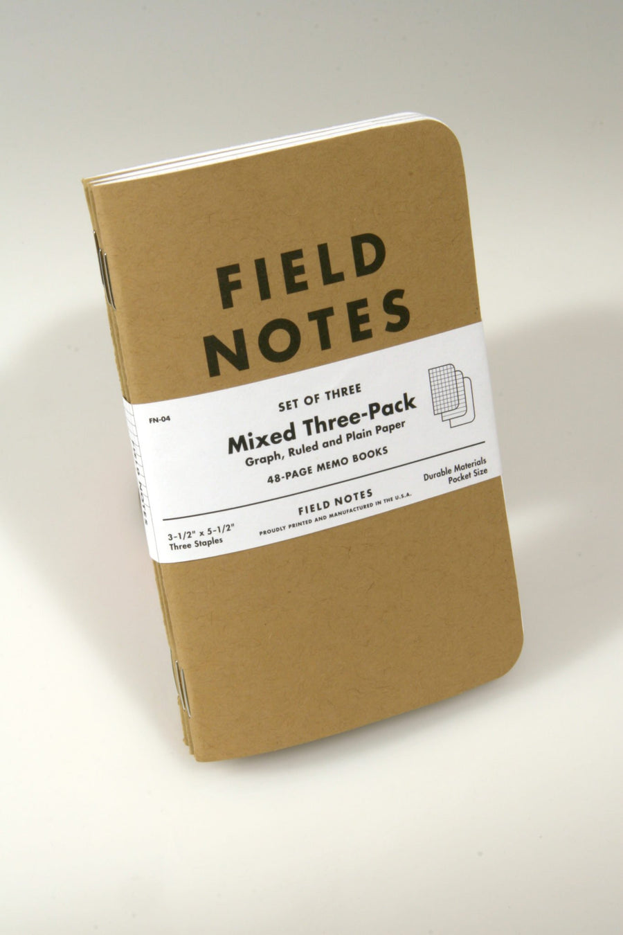 Field Notes Original Memo Books (Mixed 3-Pack)
