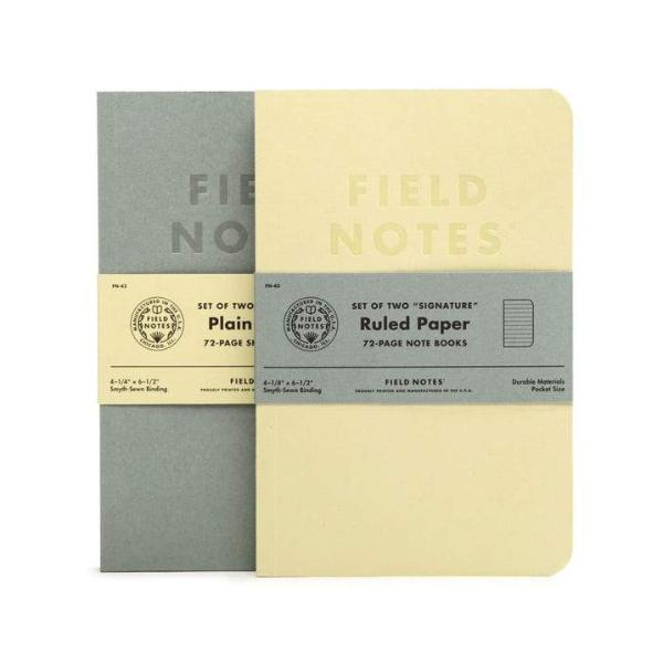 Field Notes Signature (2-Pack)
