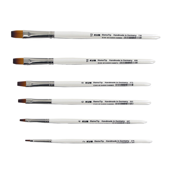 KUM Memory Point Brushes
