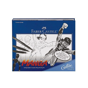 Faber-Castell Getting Started: Complete MANGA Drawing Kit