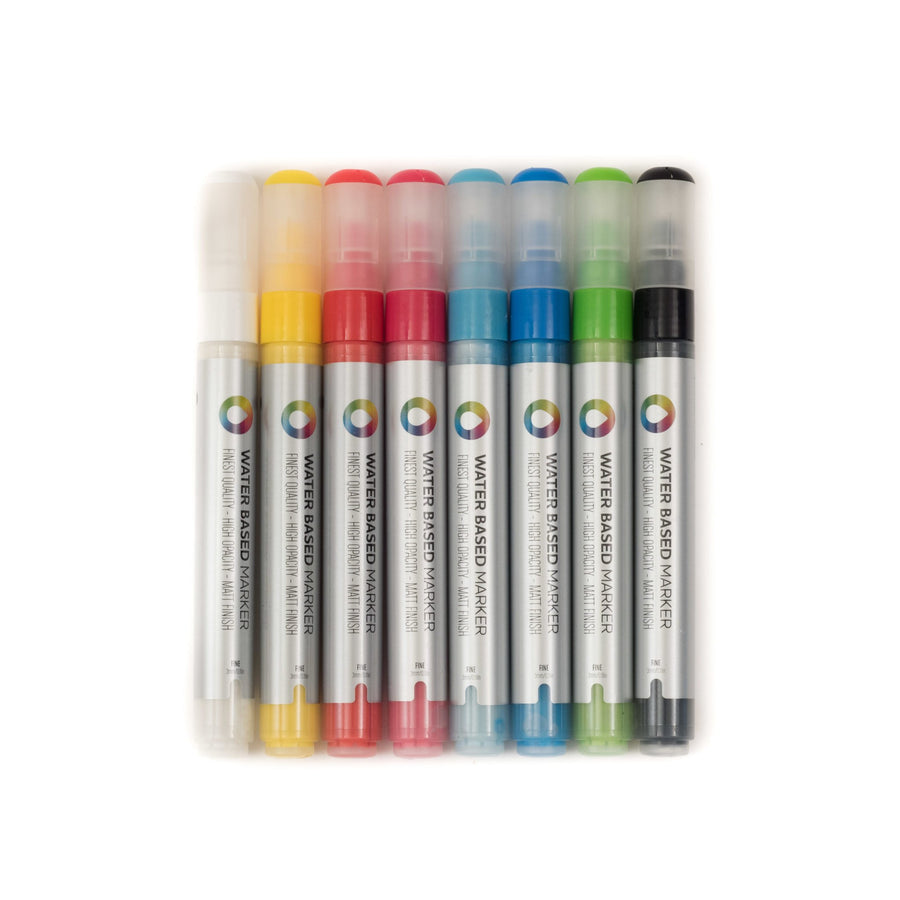 Montana Colors 3mm Water-based Paint Markers (8-Pack)