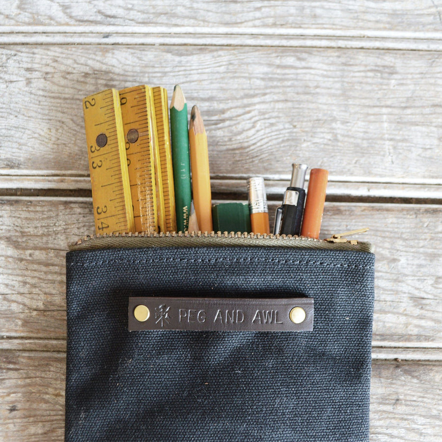 Peg and Awl Scribbler Pouch