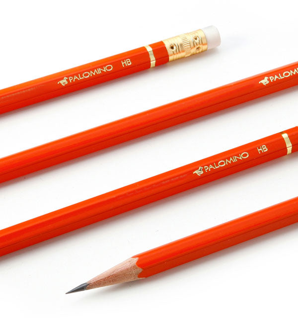 Palomino Orange Eraser-Tipped HB Pencils (12 Count)