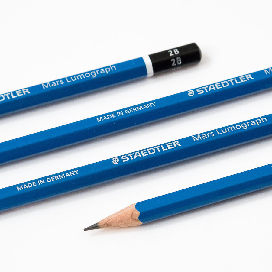 Staedtler Mars Lumograph Drawing Pencils - 20 Pencil Set