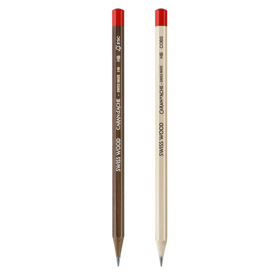 Caran d'Ache Swiss Wood Set