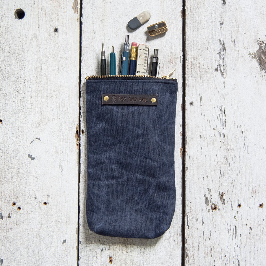 Peg and Awl Scribbler Pouch - Rook
