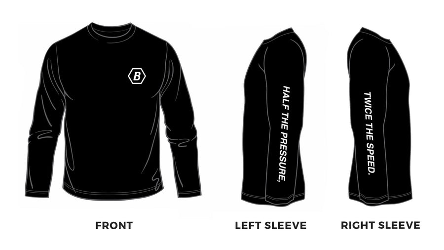 Blackwing Long Sleeve T-Shirt - Layout