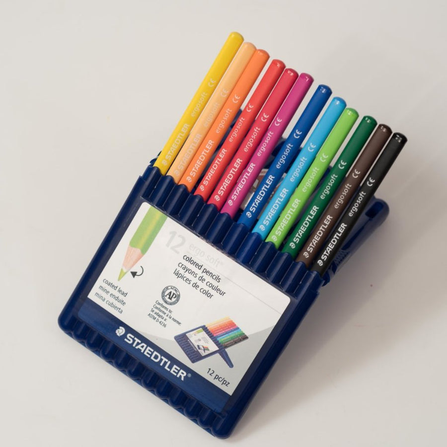 Staedtler Ergosoft Colored Pencils (12 Pack)