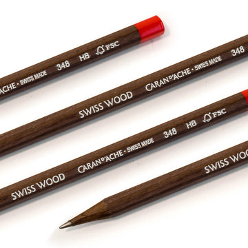 Caran d'Ache Swiss Wood 348 Pencil