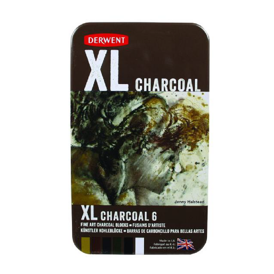 Derwent XL Charcoal (6 Pack)
