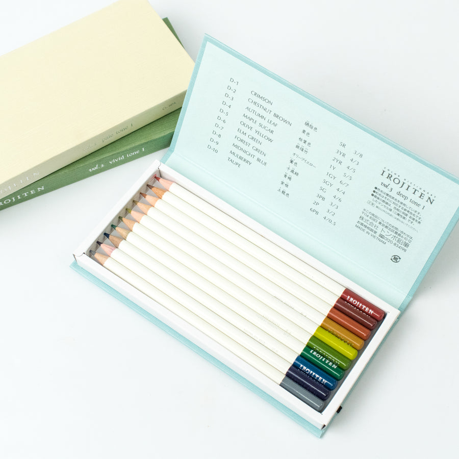 Tombow Irojiten Color Pencil Set