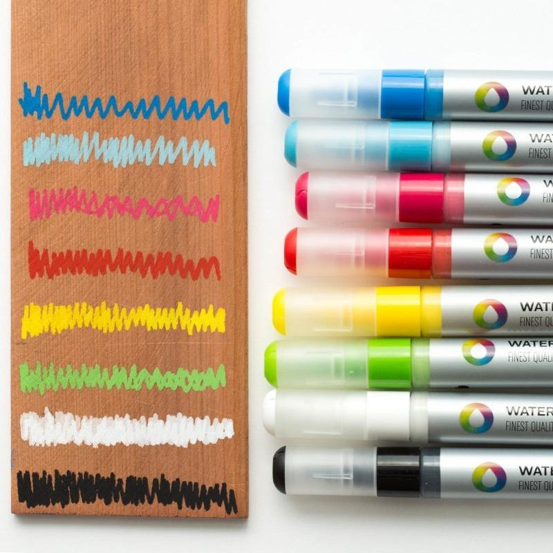 Montana Colors 5mm Water Based Paint Markers - Color Sample