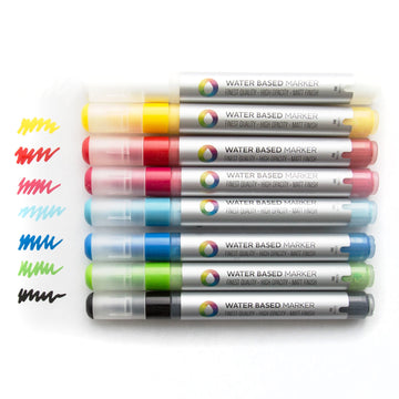 Montana Colors 3mm Water-based Paint Markers (8-Pack) Color Sample