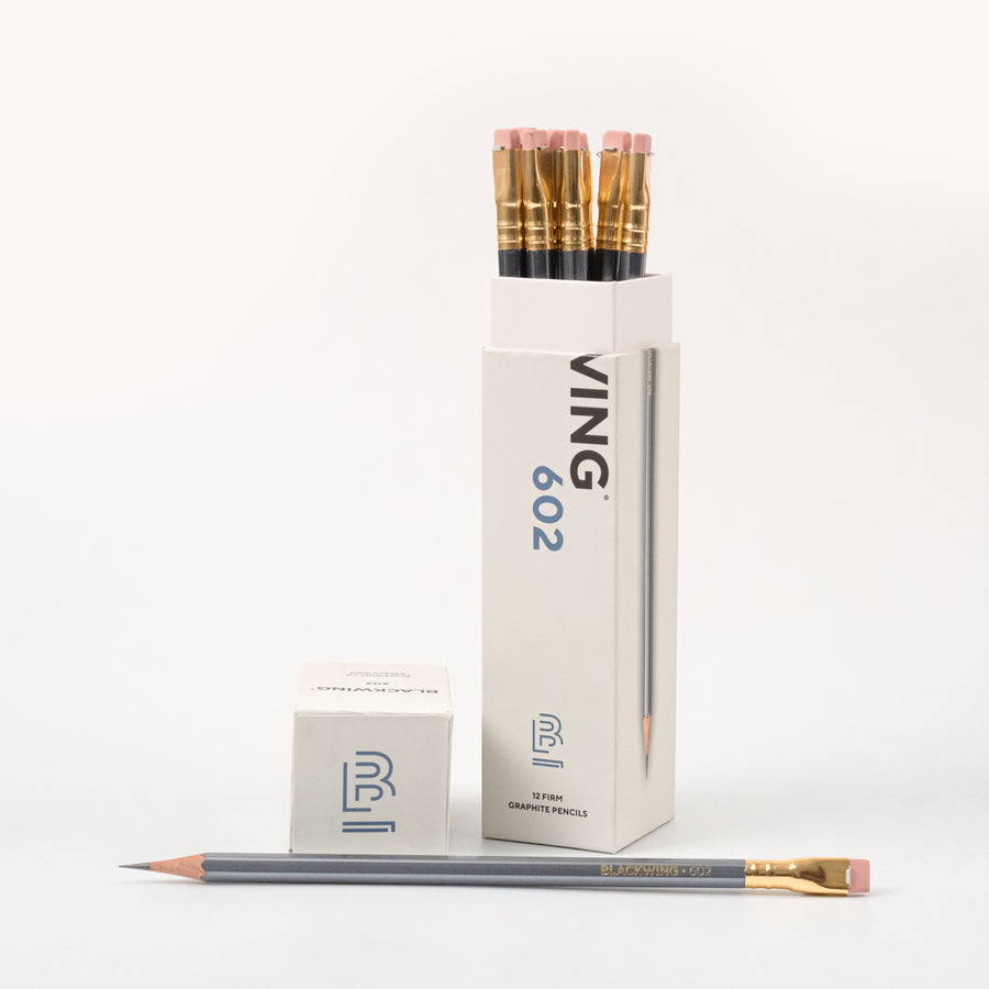 Blackwing 602 Pencils - New Packaging