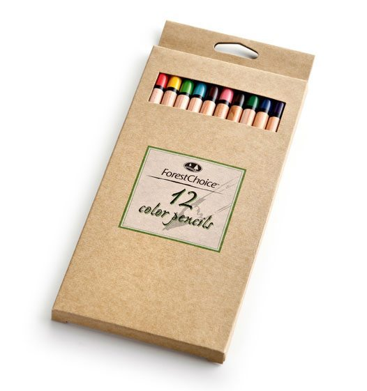 ForestChoice Color Pencils (12 Count)