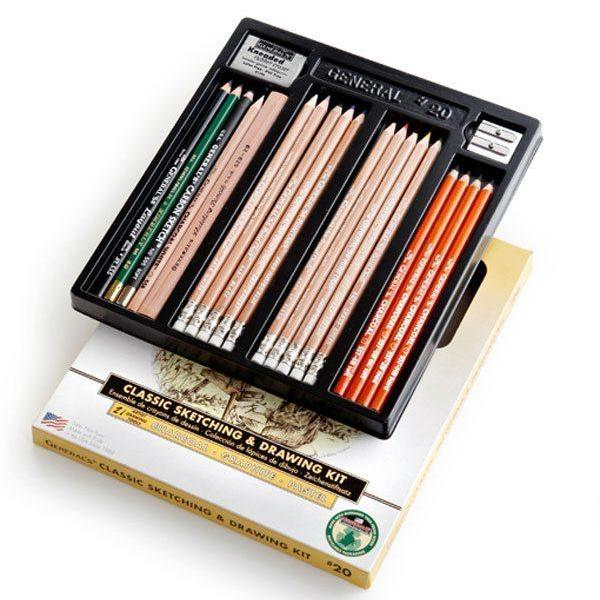 General's #20 Drawing Pencil Kit