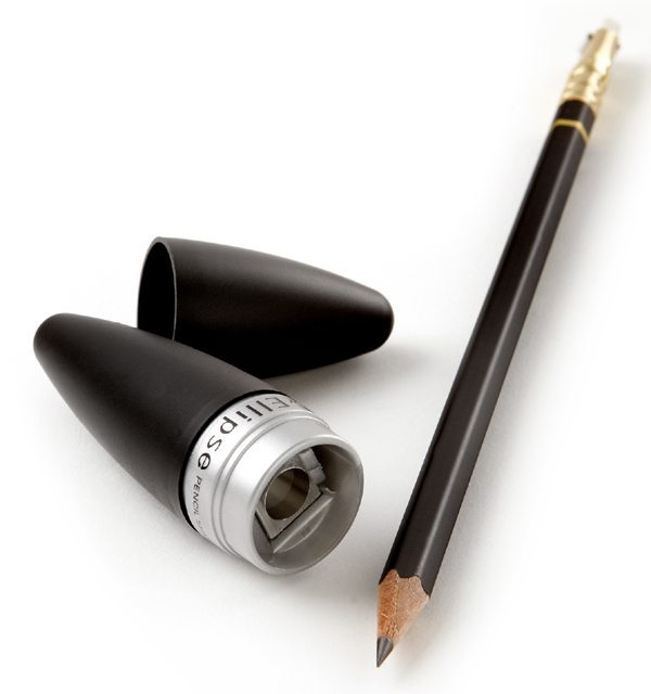 KUM® Black Ellipse Pencil Sharpener