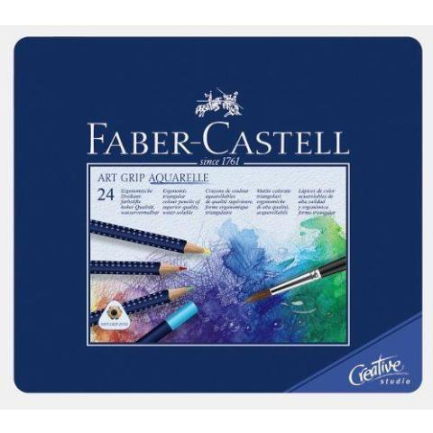 Faber-Castell ART GRIP Aquarelle Pencils - 24 Pk