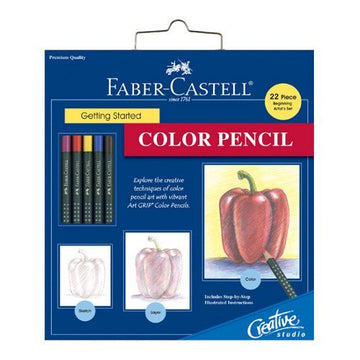 Faber-Castell Getting Started: Color Pencil Art Set