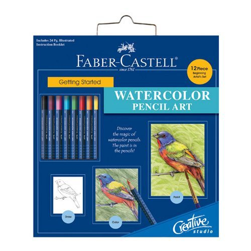 Faber-Castell Getting Started: Watercolor Pencil Art Set