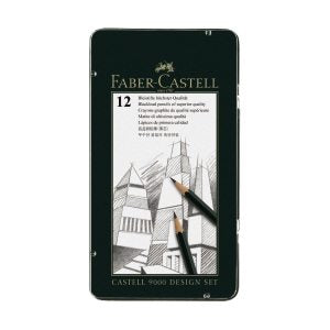 Faber-Castell Castell 9000 Graphite Pencil Design Tin