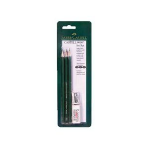 Faber-Castell Castell 9000 Artist Graphite Drawing Set