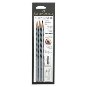 Faber-Castell GRIP 2001 Artist Drawing Pencil Set