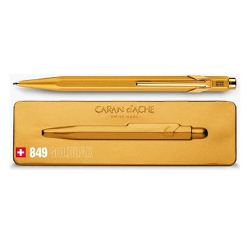 Caran d'Ache 849 Ballpoint Pen in Gift Box - Gold