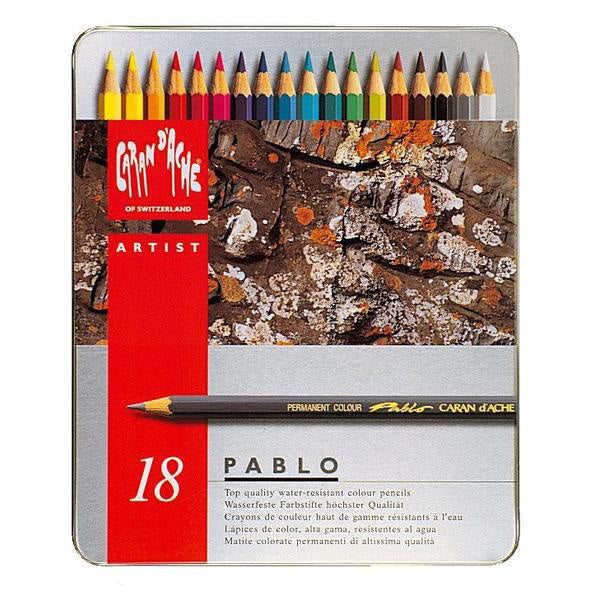 Caran d'Ache Pablo Colored Pencils