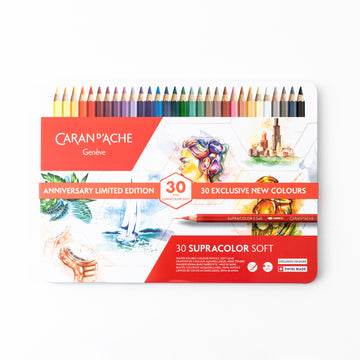 Caran d'Ache 30 Supracolor Soft - Metal Collection Box