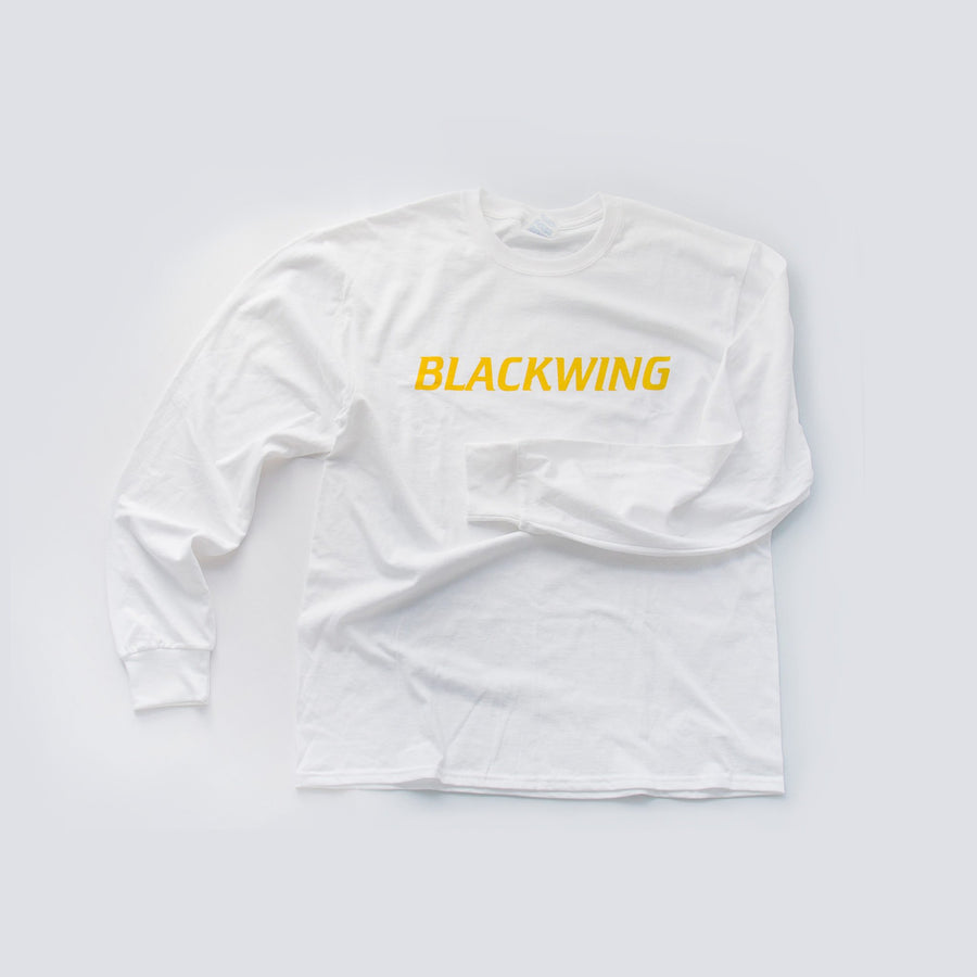 Blackwing Long Sleeve Logo T-Shirt - White