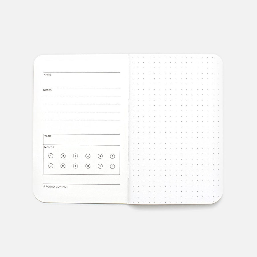 Word. Notebooks Dot Grid 3-Pack