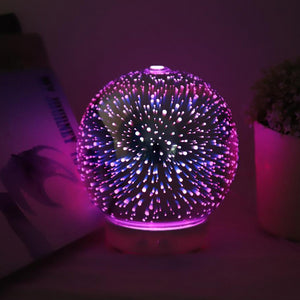 3D Glass Diffuser - Blue Tree Aroma