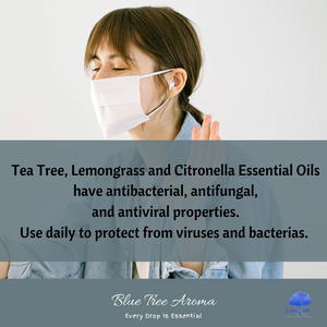 Tea Tree Essential Oil - Blue Tree Aroma