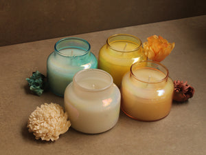Aroma Candles Glass set of 4