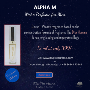Alpha M Eau De Pocket Parfum